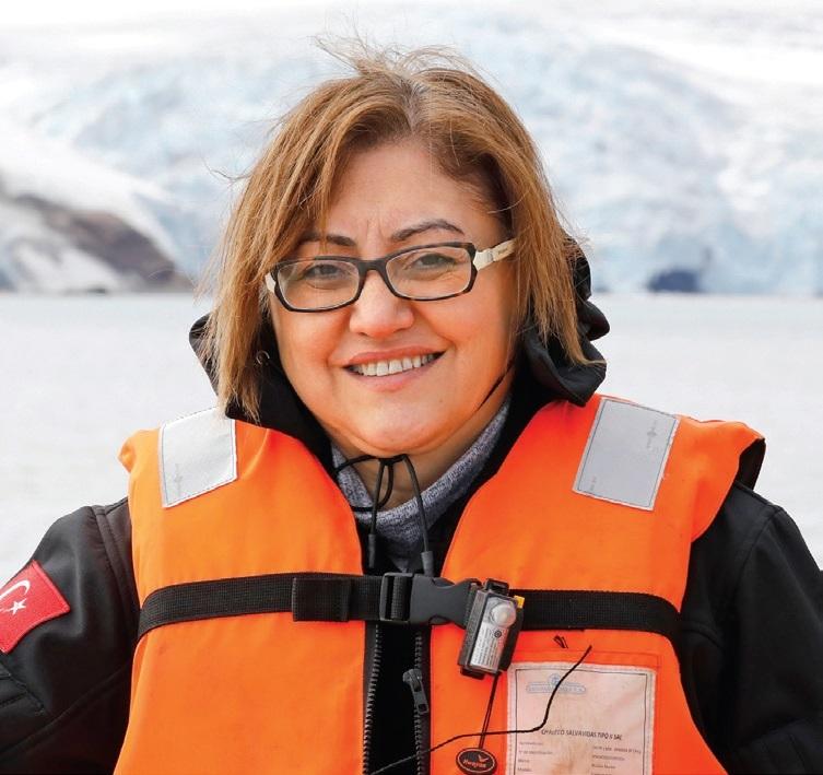 Fatma Şahin sürdürülebilirlik çalışmalarını anlatıyor