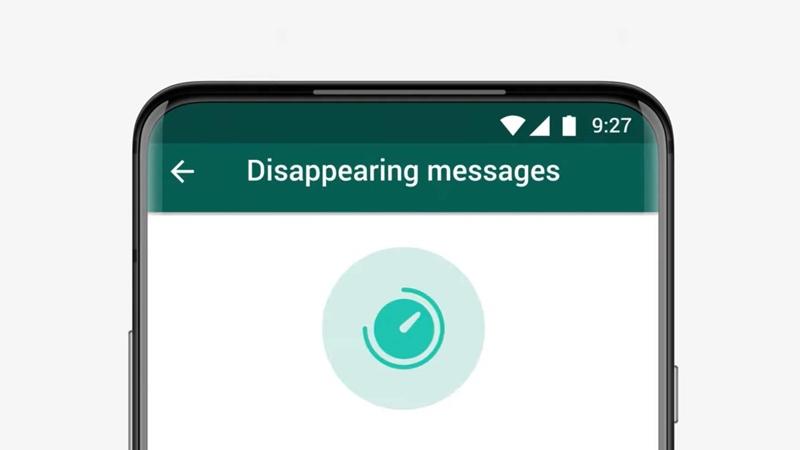 "WhatsApp'a ""kaybolma özgürlüğü"" geldi"